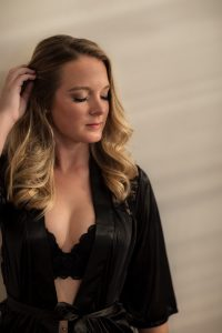 blonde sun robe lingerie